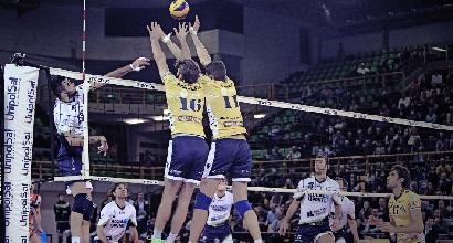 Volley, SuperLega: Trento sbanca Modena, è vetta