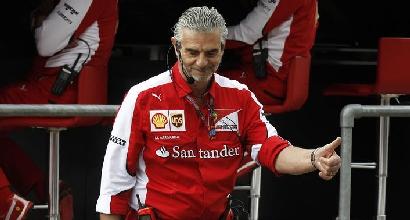 """Ferrari, Arrivabene deluso: """"Un dado ci è costato il podio"""""""