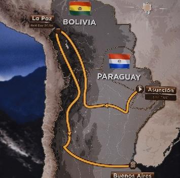 Dakar, nel 2017 si passerà anche in Paraguay