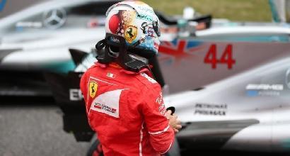 """F1, Vettel si arrende: """"Per il Mondiale ora è dura"""""""