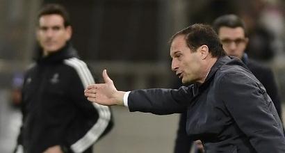 """Juve, Allegri: """"Dobbiamo imparare a chiudere le partite"""""""