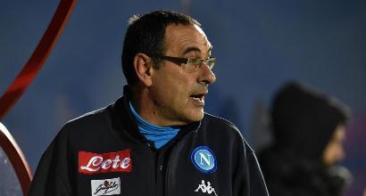 """Sarri, il manager attacca la stampa: """"Il solito clan"""""""