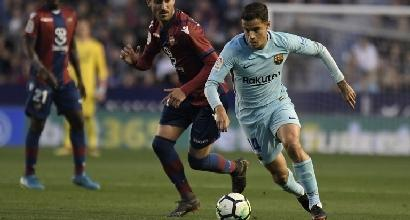 Liga,sfuma il record del Barcellona