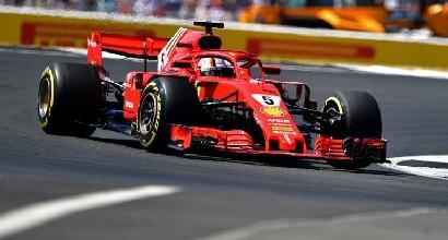 Formula 1 - Seb, l'entrata killer di Kimi e la dominante rossa nella domenica fenomenale di Lewis