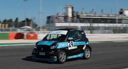 Si torna in pista: smart EQ fortwo e-cup a Vallelunga il 15 e 16 settembre
