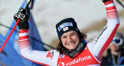 Sci, la Siebenhofer fa bis a Cortina
