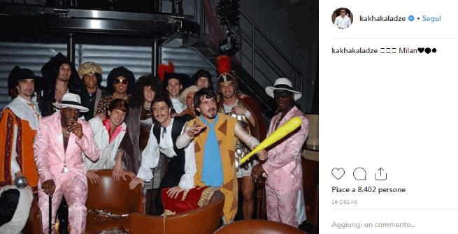 Milan, Kaladze ricorda il Carnevale in rossonero