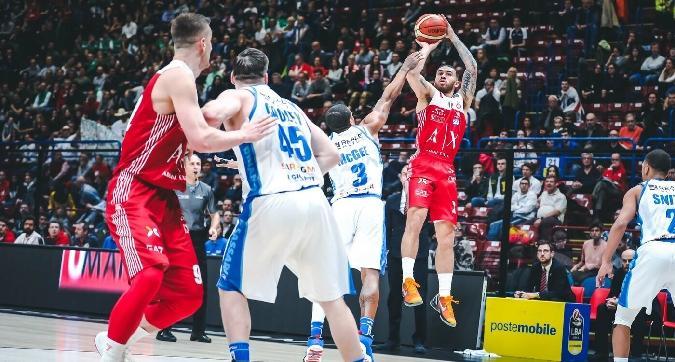 Basket, Serie A: Milano perde ancora, ma Venezia non si avvicina