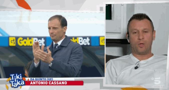 Cassano a Tiki Taka: