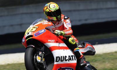 Valentino Rossi, foto ducati.com
