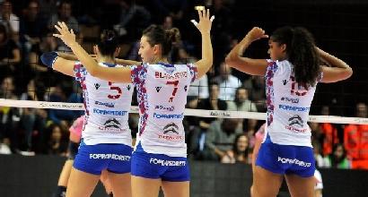 Volley, A1 femminile: vincono Modena e Busto Arsizio