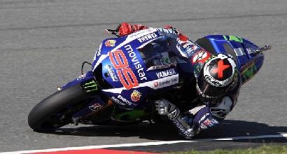 MotoGP, Indianapolis: prime libere a Lorenzo, Rossi quinto