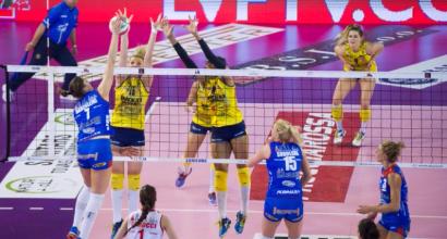 Volley, playoff A1 femminile: Conegliano in semifinale, Novara fa 1-1