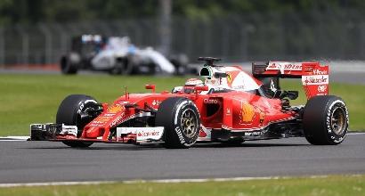 F1, test Silverstone: Raikkonen davanti a tutti