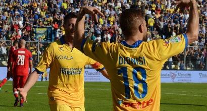 Serie B: derby all'ultimo respiro, la Pro Vercelli fa festa