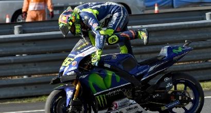 """MotoGP, Rossi: """"Col freddo Phillip Island può essere pericolosa"""""""