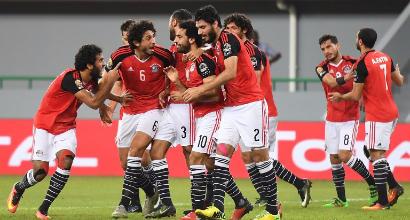 Coppa d'Africa 2017: Egitto ai quarti grazie a Salah