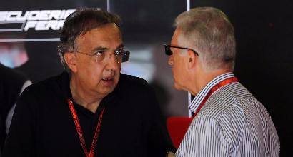 """F1, Marchionne: """"La Ferrari torni imbattibile come con Schumacher"""""""