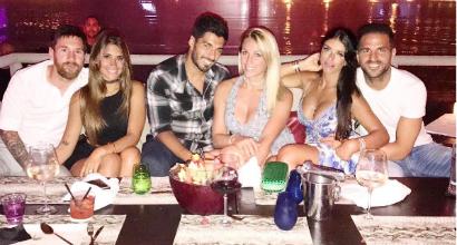 """Messi, Suarez e il """"giallo"""" della folle cena a Ibiza"""