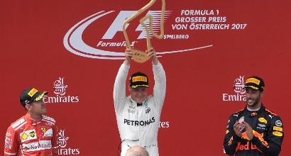 F1: Bottas vince e convince, Raikkonen è un'ombra