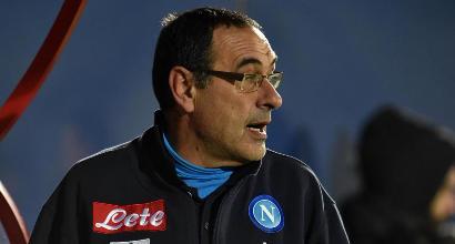 Napoli, Sarri furioso dopo la Coppa