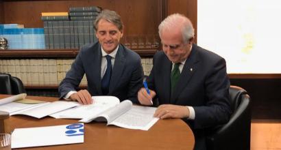 Nazionale, Mancini è ufficialmente il nuovo ct
