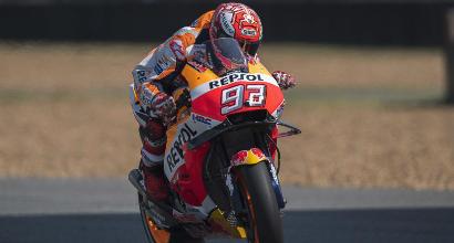 MotoGp in Thailandia, Libere 3: Dovizioso vola, Marquez dovrà fare la Q1