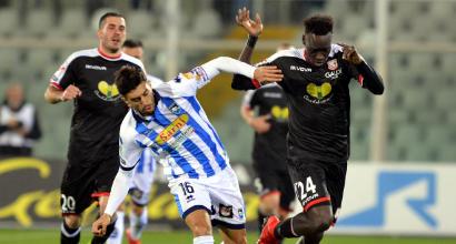 Serie B: il Pescara vince e aggancia la vetta