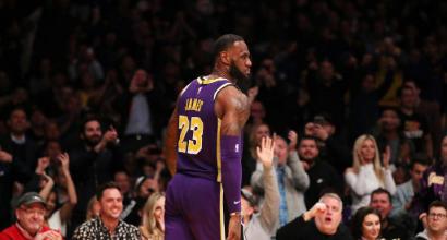 Nba: Gallinari trascina i Clippers contro i Kings, ai Lakers non basta super LeBron