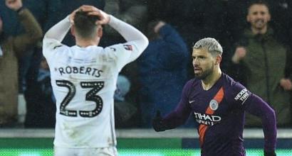 FA Cup: il City va a Wembley in semifinale, lo United va a casa