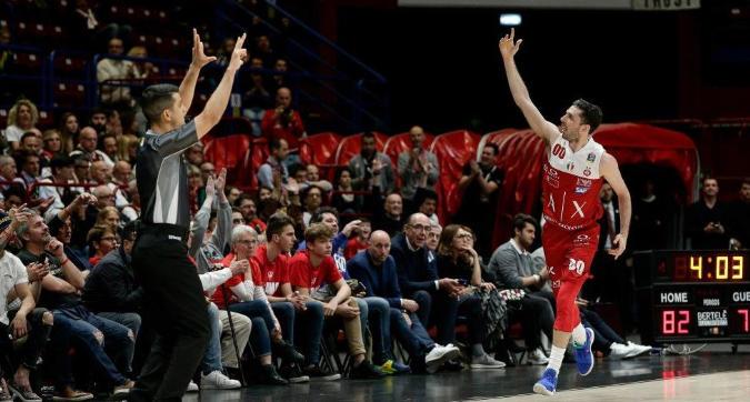 Basket, Serie A playoff: crollo Milano, Avellino sbanca il Forum. Sassari piega Brindisi