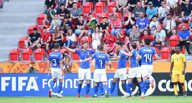 Mondiale Under 20: l'Italia vola in semifinale, Mali battuto 4-2