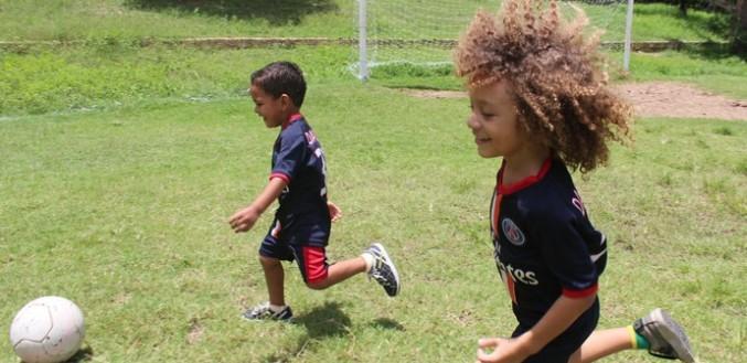 I mini-sosia di Thiago Silva e David Luiz vestono Psg