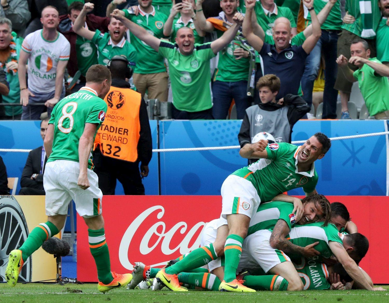Euro 2016, Irlanda-Svezia 1-1