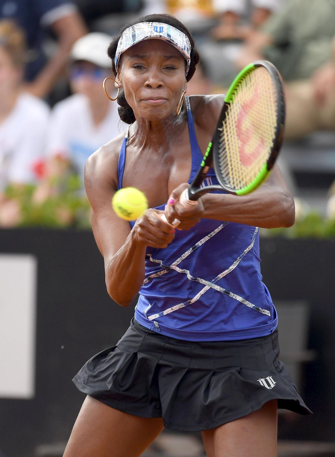 Roma, Venus Williams sul velluto