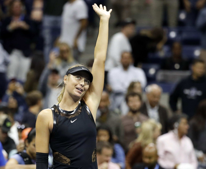 Us Open, Sharapova senza ostacoli