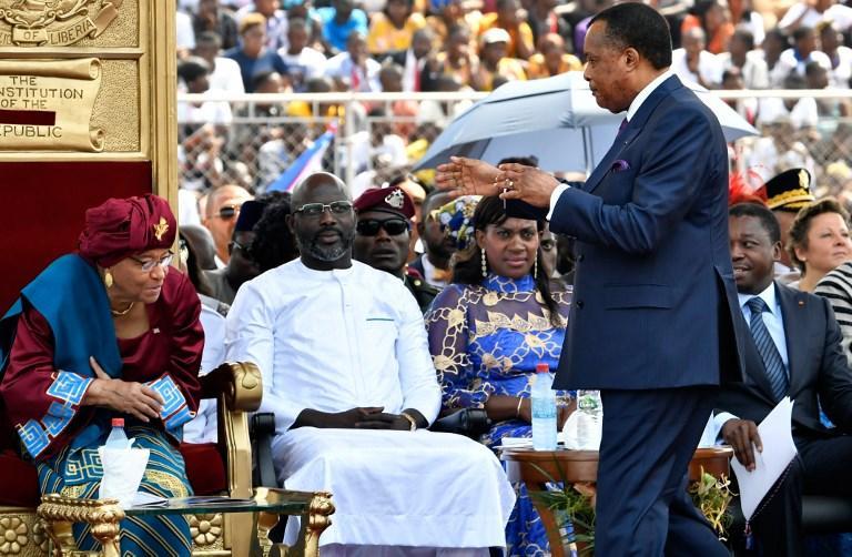 Liberia, Weah presidente: il giuramento nello stadio a Monrovia