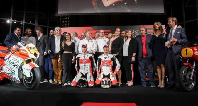 Moto2, presentanto il team MV Agusta Forward Racing