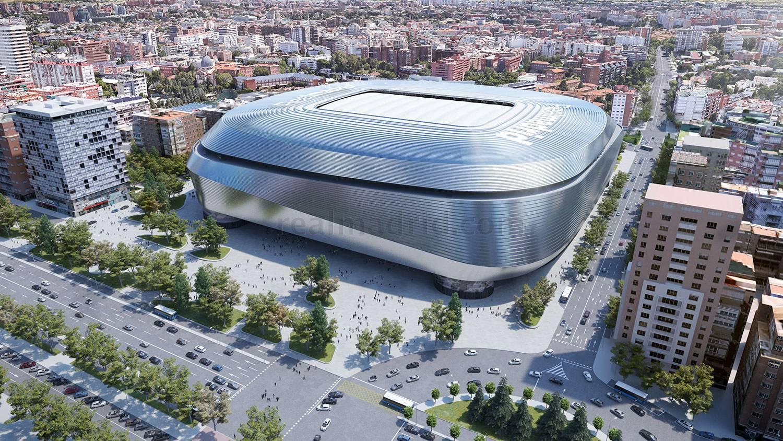 Il Bernabeu sarà ristrutturato e Florentino Perez ha presentato il progetto: