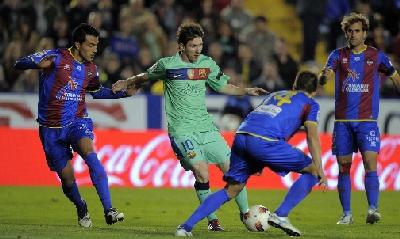 Leo Messi, foto Afp