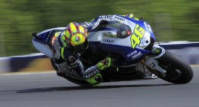 Warm up MotoGP: Pedrosa davanti a tutti, Rossi è 3°