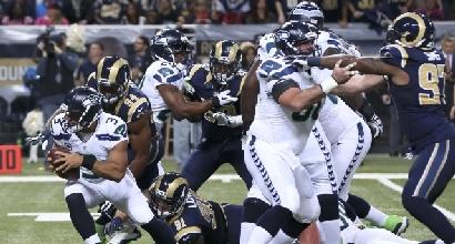Nfl: difesa super, Seattle batte St. Louis