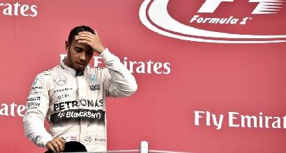 """Hamilton: """"Ho avuto un incidente stradale a Monaco"""""""