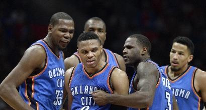 Nba: Oklahoma City, vittoria per Monty Williams