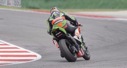 Superbike Misano: Sykes vola anche nei test