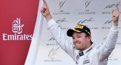 Rosberg, Afp