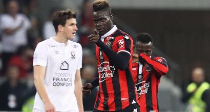 Ligue 1: Balotelli sveglia il Nizza