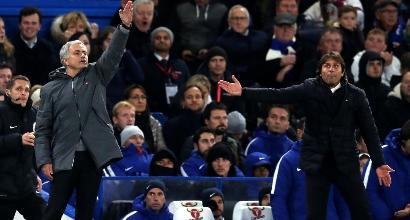 """Mourinho, replica al veleno a Conte: """"Io mai squalificato per il calcioscommesse"""""""