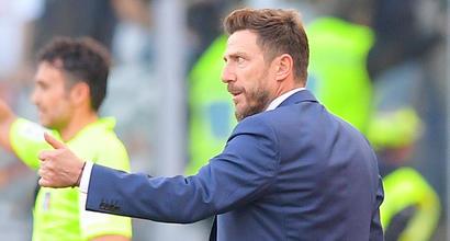 """Roma-Samp 4-1, Di Francesco: """"Stiamo migliorando. Schick? C'è poca pazienza"""""""