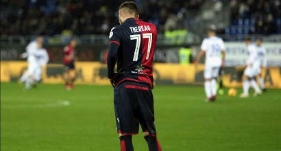 Scandalo per il calciatore del Cagliari Cyril Théréau